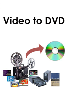 VHS, Cine, Camcorder Tapes To DVD in Burnley