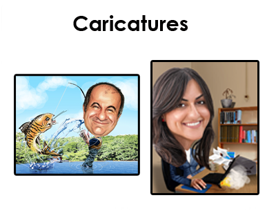 Photo Caricatures Burnley